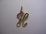 Zlaté písmeno H