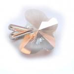 Přívěšek Swarovski motýl silver shade