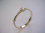 Prsten s diamantem 1