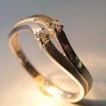 Prsten s diamanty1
