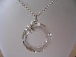krystal swarovski cosmic ring osazený ve stříbře