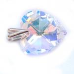 Přívěšek srdce s krystalem Swarovski