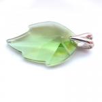 Přívěšek Swarovski list - zelený