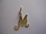 Zlaté písmeno M