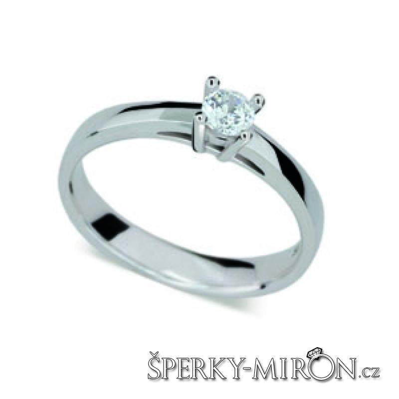 prsten s briliantem 1902B